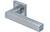 scoop pullbloc 3.0 türdrücker form 1002 in edelstahl matt auf quadratrosette