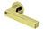 scoop pullbloc 3.0 türdrücker form 1002 in pvd messinggelb auf rundrosette