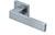 scoop pullbloc 3.0 türdrücker form 1005 in edelstahl matt auf quadratrosette