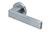 scoop pullbloc 3.0 türdrücker form 1005 in edelstahl matt auf rundrosette