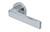 scoop pullbloc 3.0 türdrücker form 1005 in edelstahl poliert auf rundrosette