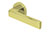scoop pullbloc 3.0 türdrücker form 1005 in pvd messinggelb auf rundrosette