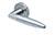 scoop pullbloc 3.0 türdrücker form 1007 in edelstahl matt auf rundrosette