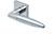 scoop pullbloc 3.0 türdrücker form 1007 in edelstahl poliert auf quadratrosette