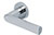 scoop pullbloc 3.0 türdrücker form 1008 in edelstahl poliert auf rundrosette