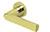 scoop pullbloc 3.0 türdrücker form 1008 in pvd messinggelb auf rundrosette