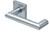 scoop pullbloc 3.0 türdrücker form 1009 in edelstahl matt auf quadratrosette