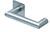 scoop flache lösungen türdrücker form 1009 in edelstahl matt auf flacher quadratrosette