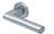 scoop pullbloc 3.0 türdrücker form 1011 in edelstahl matt auf rundrosette