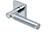 scoop pullbloc 3.0 türdrücker form 1013 in edelstahl poliert auf quadratrosette