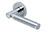 scoop pullbloc 3.0 türdrücker form 1013 in edelstahl poliert auf rundrosette