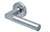 scoop pullbloc 3.0 türdrücker form 1016 in edelstahl matt auf rundrosette