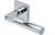 scoop pullbloc 3.0 türdrücker form 1016 in edelstahl poliert auf quadratrosette