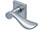 scoop pullbloc 3.0 türdrücker form 1018 in edelstahl matt auf quadratrosette