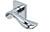 scoop pullbloc 3.0 türdrücker form 1018 in edelstahl poliert auf quadratrosette