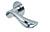 scoop flache lösungen türdrücker form 1018 in edelstahl poliert auf flacher rundrosette