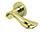 scoop pullbloc 3.0 türdrücker form 1018 in pvd messinggelb auf rundrosette