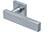 scoop pullbloc 3.0 türdrücker form 1019 in edelstahl matt auf quadratrosette