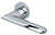 scoop pullbloc 3.0 türdrücker form 1021 in edelstahl poliert auf rundrosette