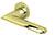 scoop pullbloc 3.0 türdrücker form 1021 in pvd messinggelb auf rundrosette