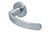 scoop pullbloc 3.0 türdrücker form 1023 in edelstahl matt auf rundrosette