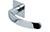 scoop flache lösungen türdrücker form 1023 in edelstahl poliert auf flacher quadratrosette