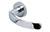scoop pullbloc 3.0 türdrücker form 1023 in edelstahl poliert auf rundrosette