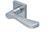 scoop pullbloc 3.0 türdrücker form 1024 in edelstahl matt auf quadratrosette