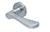 scoop pullbloc 3.0 türdrücker form 1024 in edelstahl matt auf rundrosette