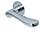 scoop flache lösungen türdrücker form 1024 in edelstahl poliert auf flacher rundrosette
