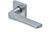 scoop pullbloc 3.0 türdrücker form 1026 in edelstahl matt auf quadratrosette