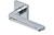 scoop pullbloc 3.0 türdrücker form 1026 in edelstahl poliert auf quadratrosette