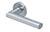 scoop pullbloc 3.0 türdrücker form 1027 in edelstahl matt auf rundrosette