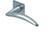 scoop flache lösungen türdrücker form 1062 in edelstahl matt auf flacher quadratrosette