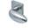 scoop pullbloc 3.0 türdrücker form 1066 in edelstahl matt auf quadratrosette