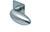scoop flache lösungen türdrücker form 1066 in edelstahl matt auf flacher quadratrosette