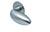 scoop flache lösungen türdrücker form 1066 in edelstahl matt auf flacher rundrosette