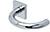 scoop pullbloc 3.0 türdrücker form 1070 in edelstahl poliert auf quadratrosette