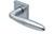scoop pullbloc 3.0 türdrücker form 1083 in edelstahl matt auf quadratrosette