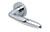 scoop pullbloc 3.0 türdrücker form 1083 in edelstahl poliert auf rundrosette