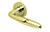 scoop pullbloc 3.0 türdrücker form 1083 in pvd messinggelb auf rundrosette