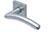 scoop pullbloc 3.0 türdrücker form 1084 in edelstahl matt auf quadratrosette