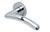 scoop pullbloc 3.0 türdrücker form 1084 in edelstahl poliert auf rundrosette