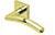 scoop edelstahl türdrücker form 1084 in pvd messinggelb auf quadratrosette