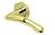 scoop pullbloc 3.0 türdrücker form 1084 in pvd messinggelb auf rundrosette