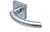 scoop pullbloc 3.0 türdrücker form 1085 in edelstahl matt auf quadratrosette