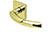 scoop pullbloc 3.0 türdrücker form 1085 in pvd messinggelb auf quadratrosette