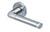 scoop pullbloc 3.0 türdrücker form 1101 in edelstahl matt auf rundrosette