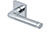 scoop pullbloc 3.0 türdrücker form 1101 in edelstahl poliert auf quadratrosette