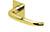 scoop flache lösungen türdrücker form 1103 in pvd messinggelb auf flacher quadratrosette